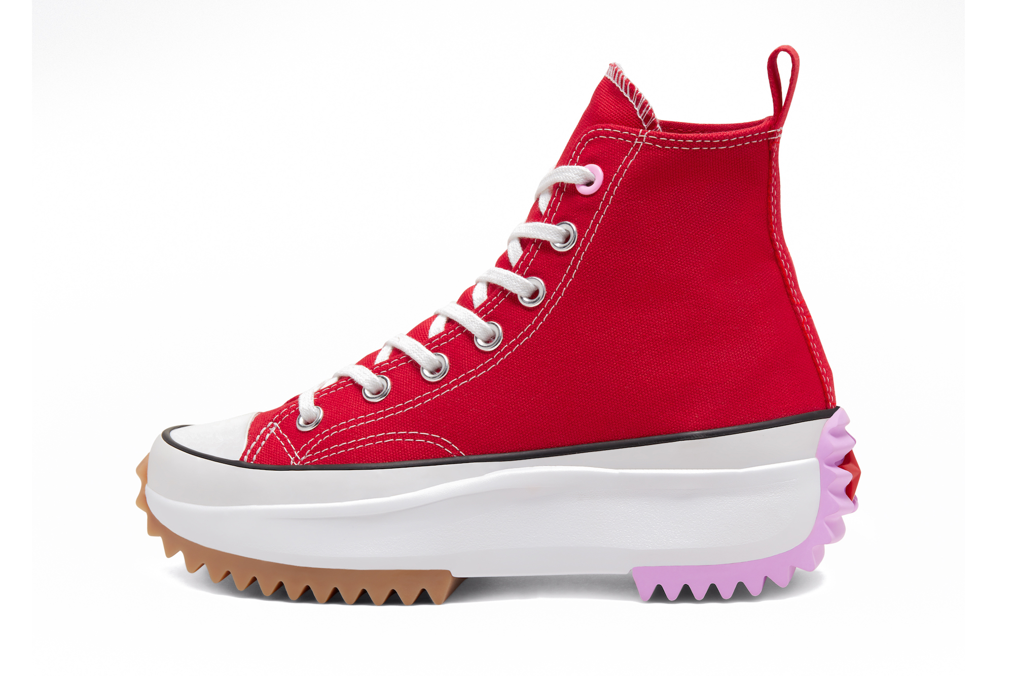 Converse x JW Anderson Run Star Hike VLTG Red Blue