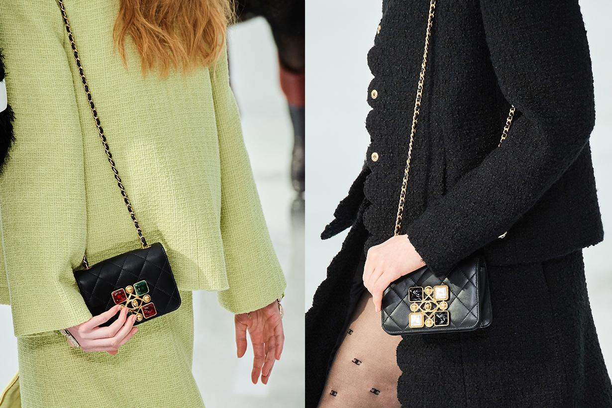 chanel on trend handbags fall winter 2020 Paris fashion week