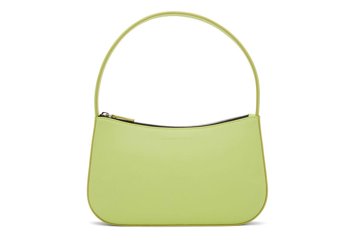 Kwaidan Editions Green Nappa Leather Lady Bag