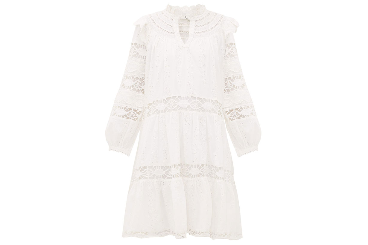 Lea Broderie-anglaise Cotton Dress