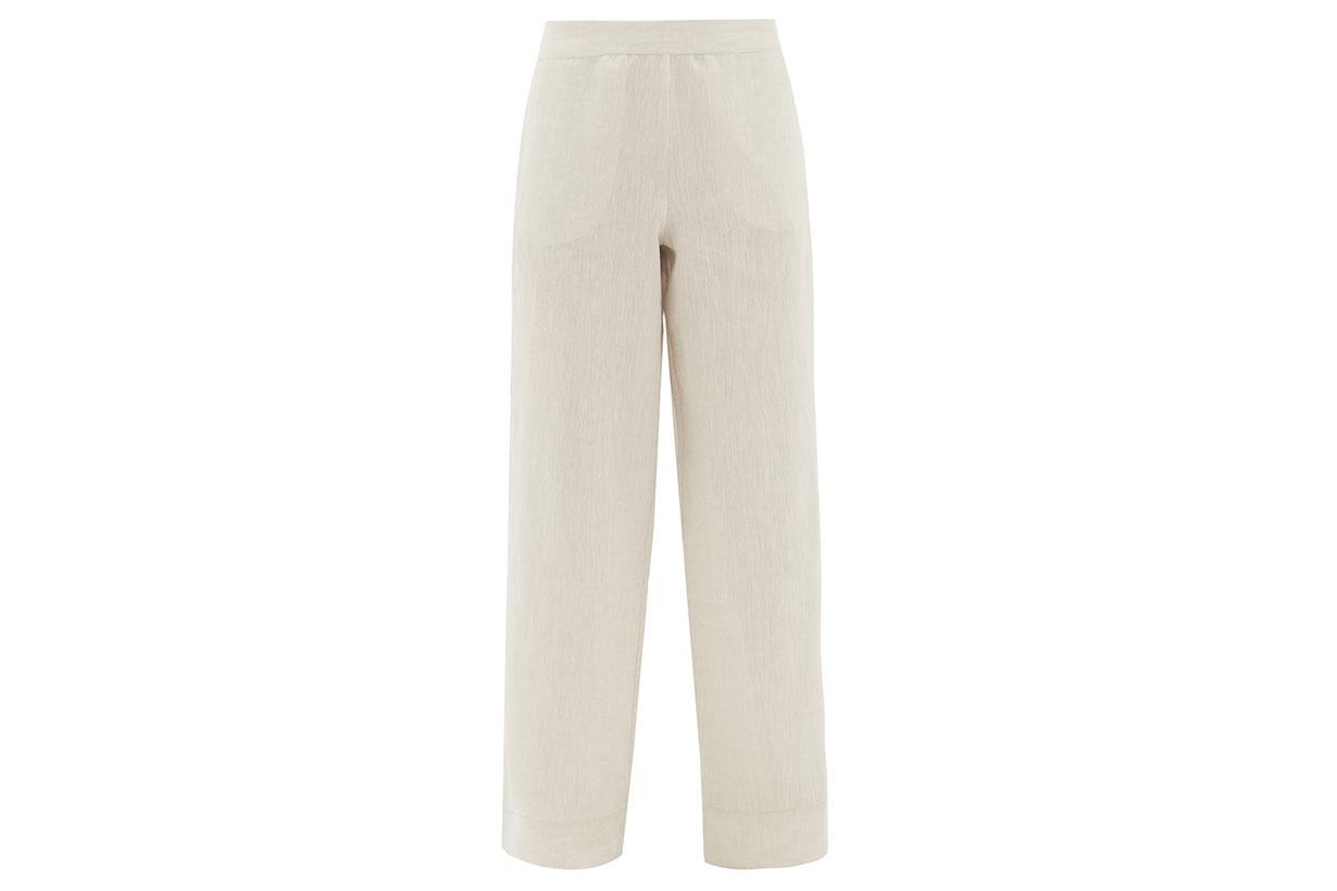 London Organic-linen Trousers