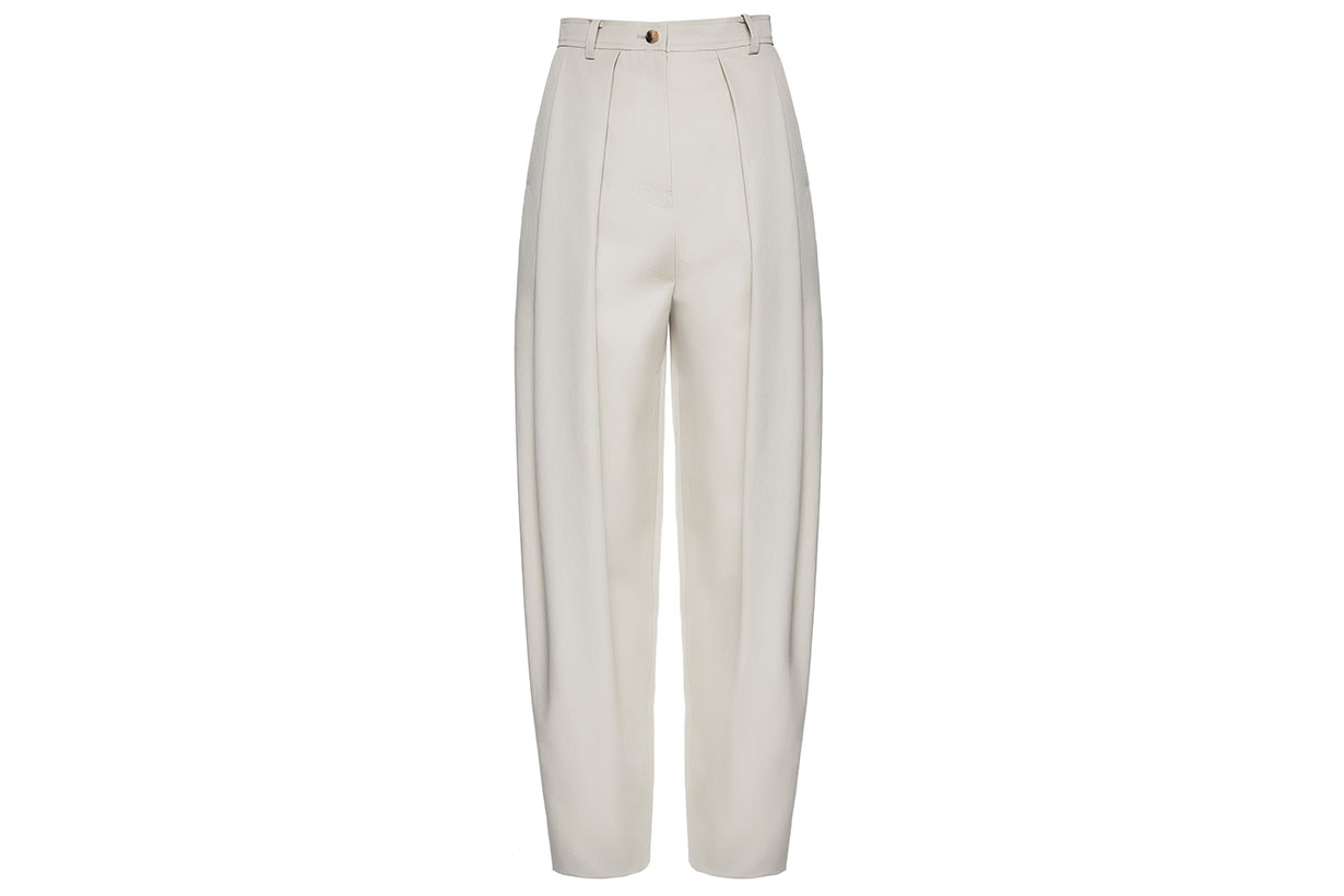 Magda Butrym Harwich Pleated Cotton Pants