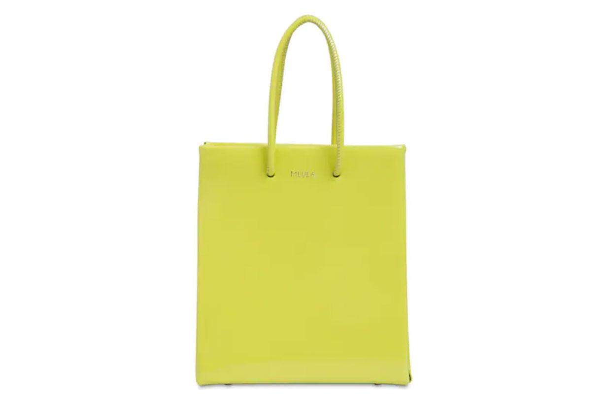 Medea Short Medea Vinyl Top Handle Bag