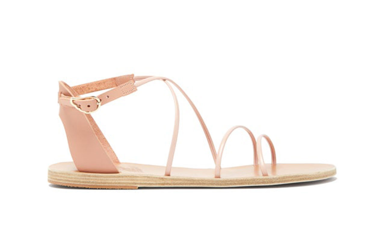 Meloivia leather sandals