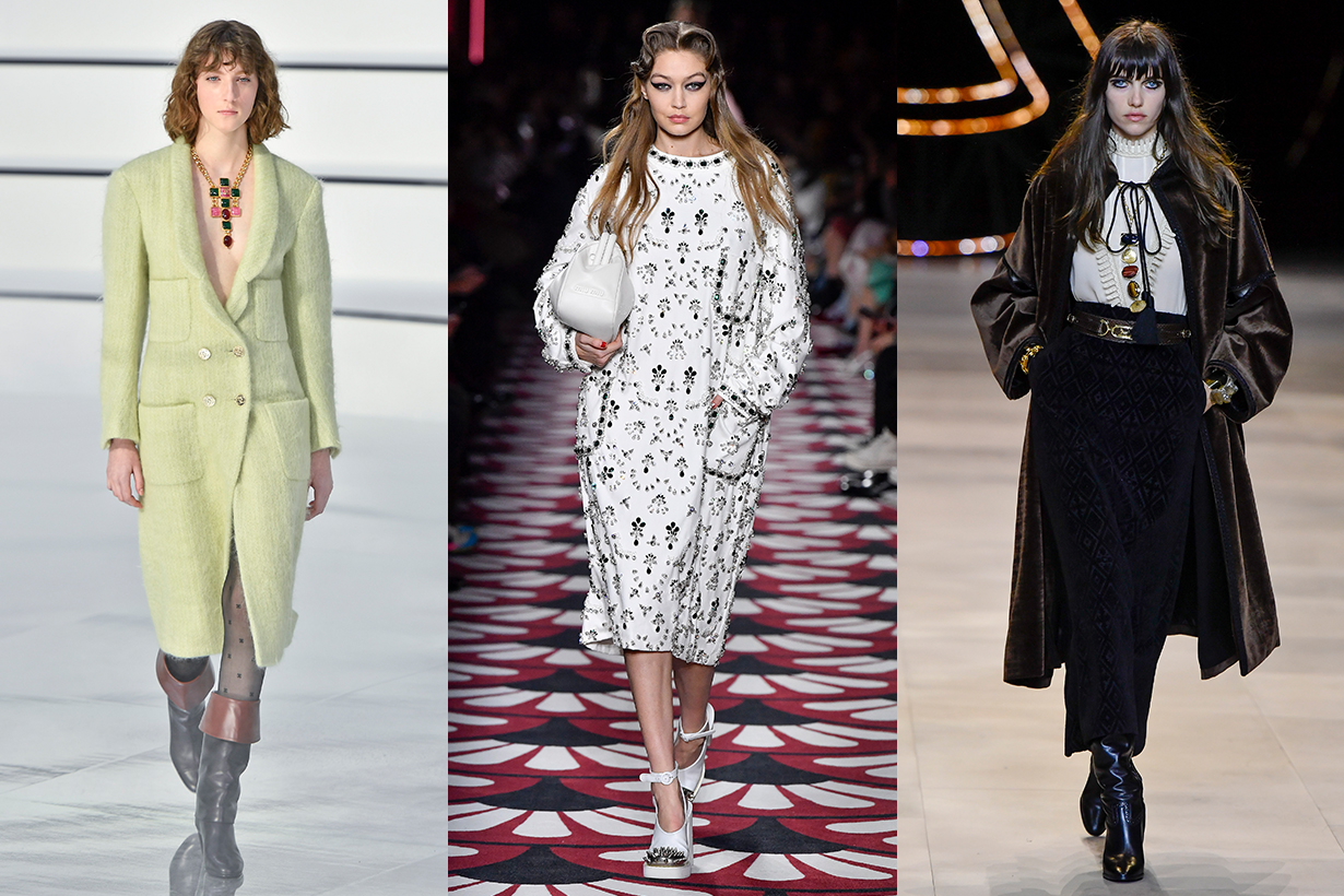 Chanel, Miu Miu, Celine