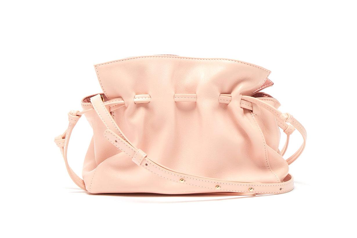 Protea mini leather cross-body bag