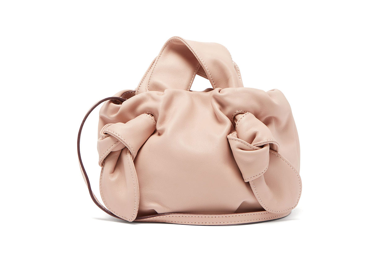 Ronnie Knotted Leather Bag
