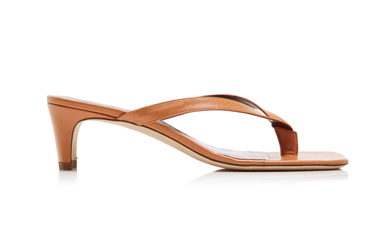Staud Audrey Leather Sandals