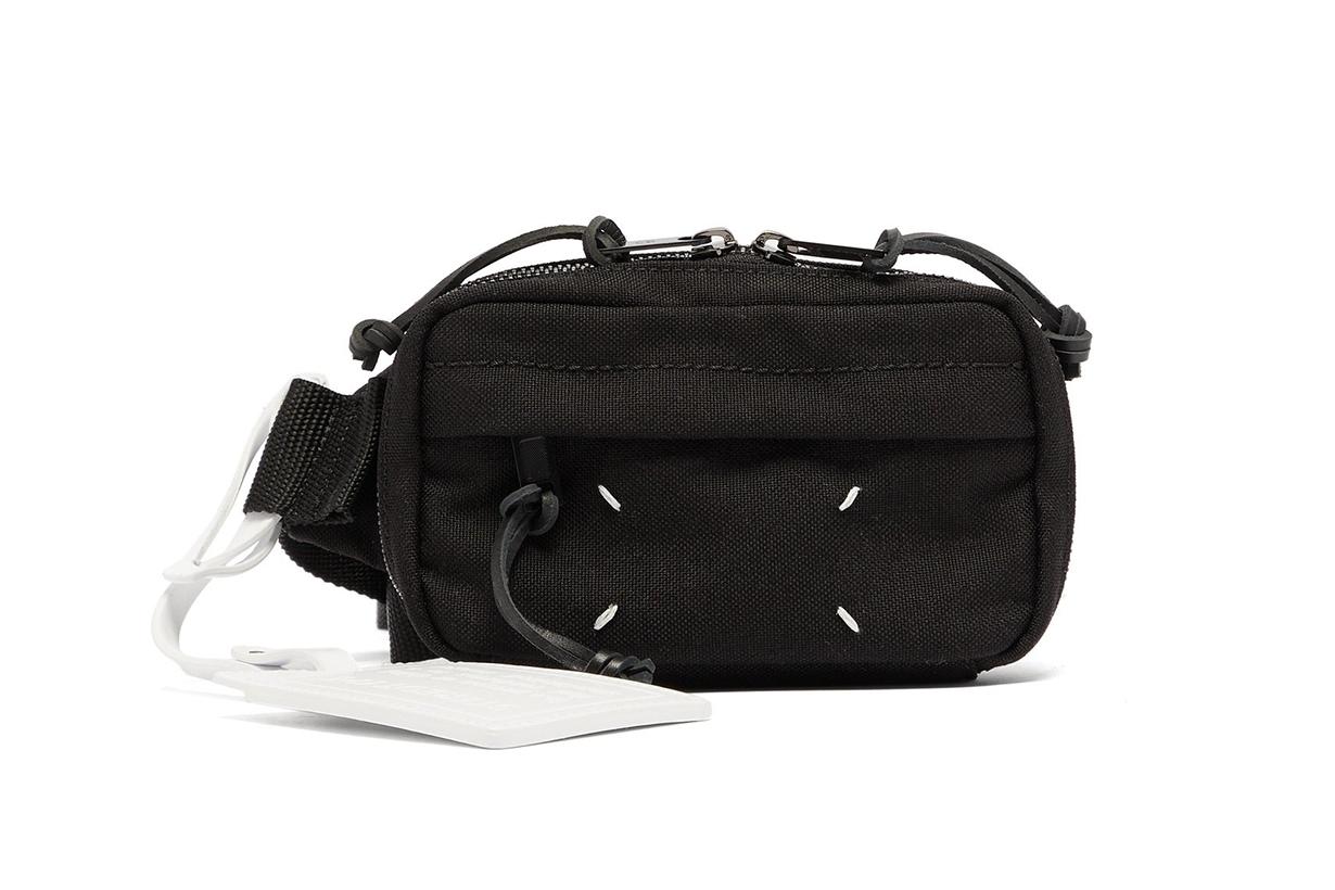 Technical-twill belt bag