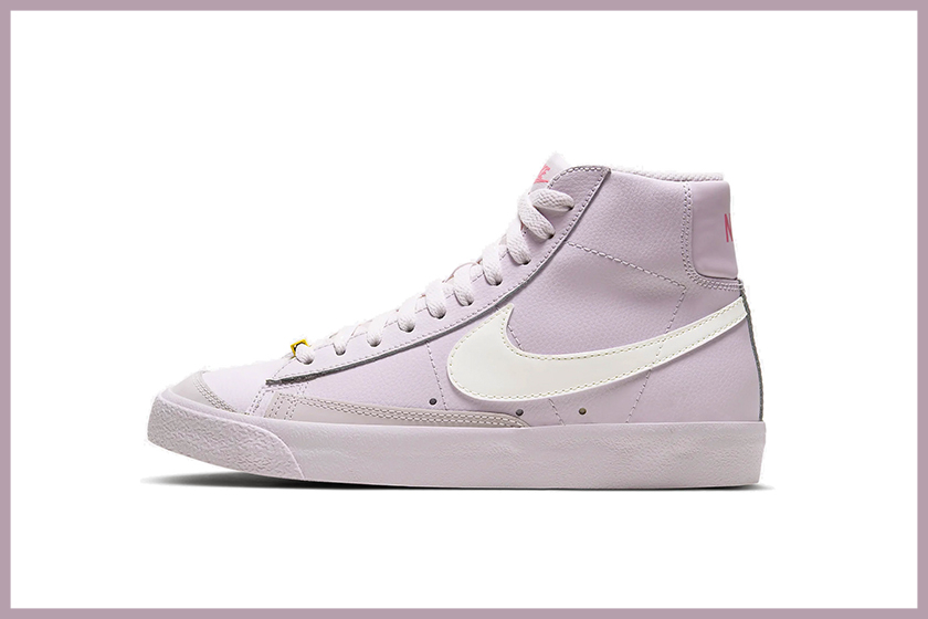 Nike Blazer Mid violet Purple Colorway for Spring