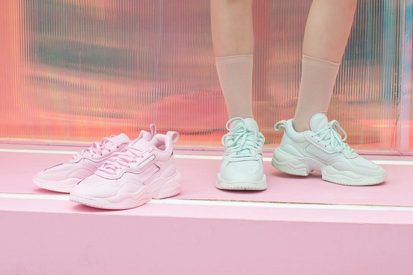 adidas Originals Supercourt RX Sweet pink green blue release