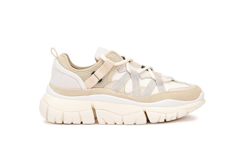 2020 Spring Milk Tea Color Shoes Trend