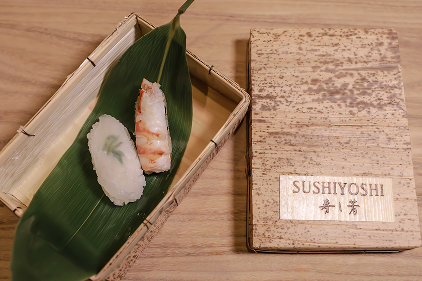 Japanese Michelin Star Restaurant Sushiyoshi Taipei