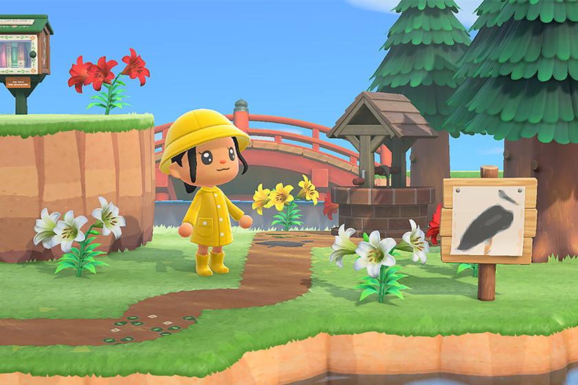 Nintendo Switch Animal Crossing The Met Art QR Code