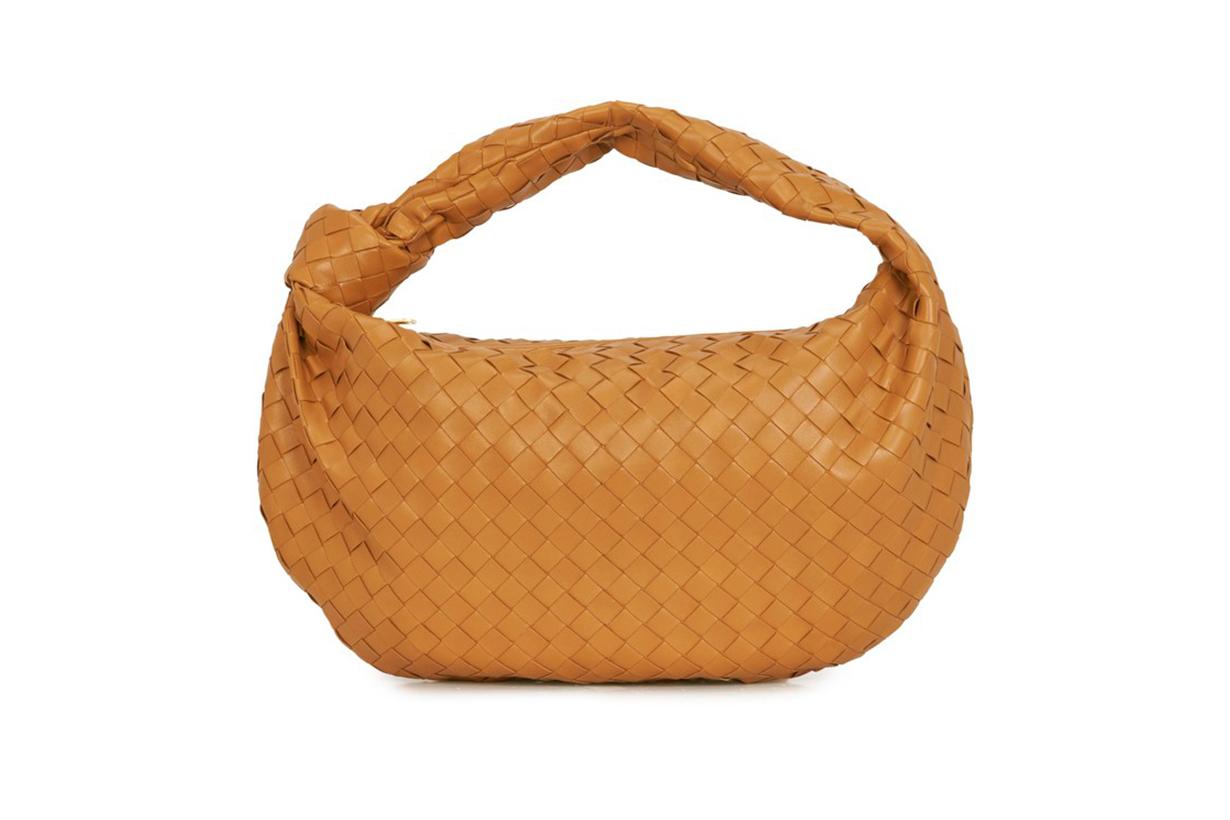 BOTTEGA VENETA Knot Intrecciato shoulder bag