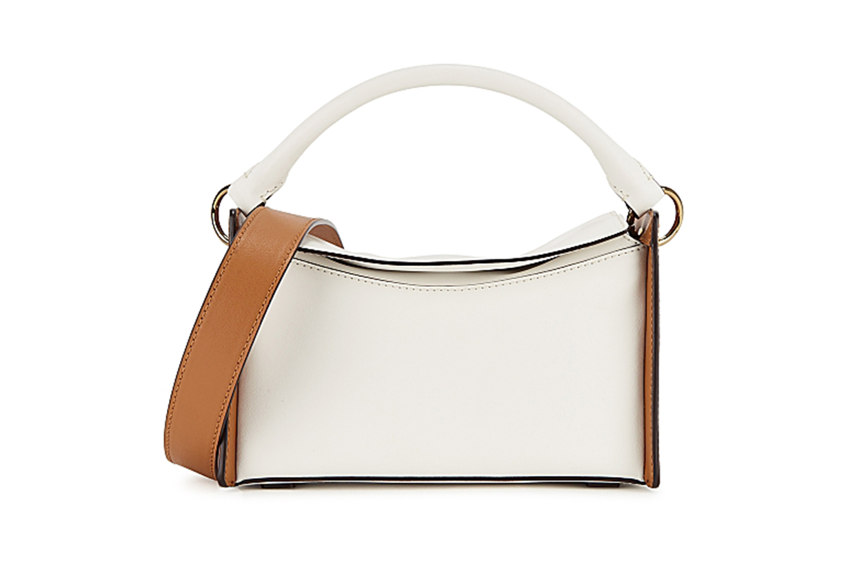 Cardena mini leather top handle bag