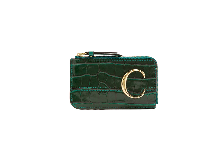 CHLOÉ wallets leather card and coin purse matches fashion sale discount code