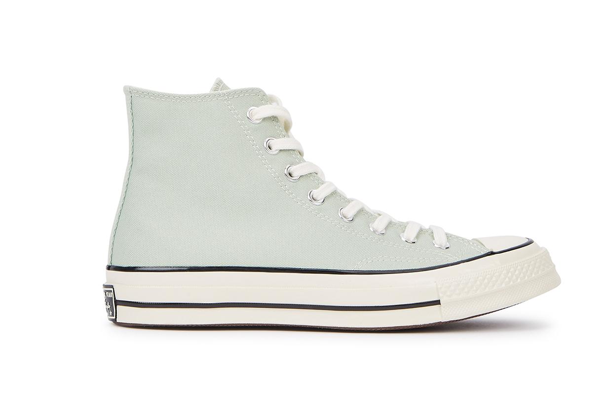 CONVERSE Chuck 70 mint canvas hi-top sneakers