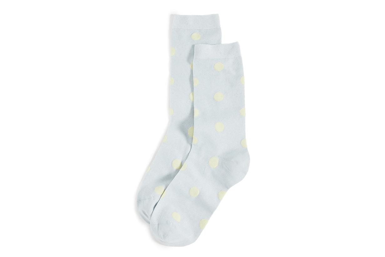 GANNI Metallic Socks