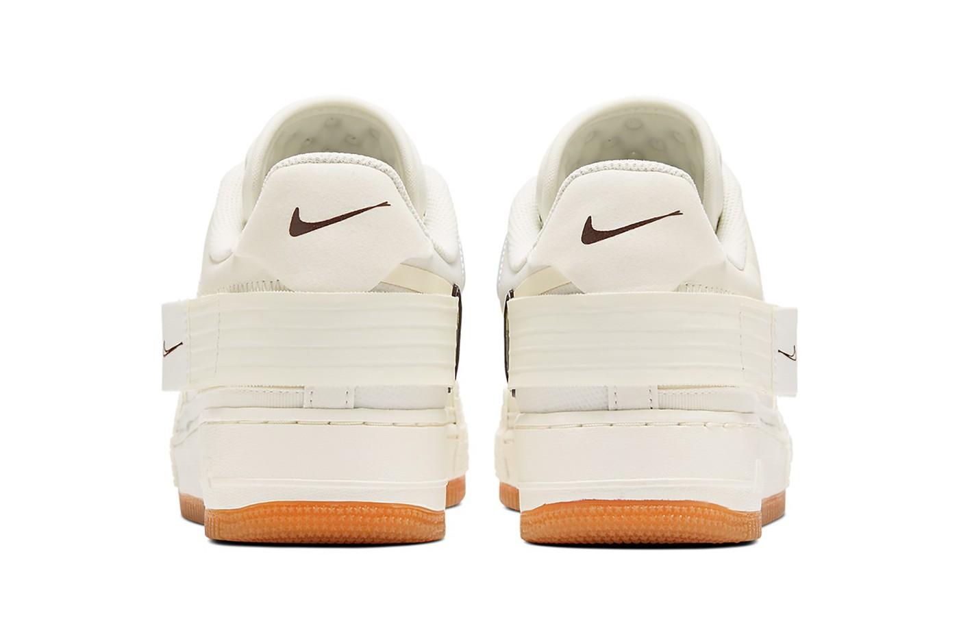 nike air force 1 type n354 sneakers cream white colorway release