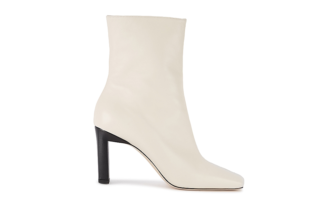 Isa 85 panelled leather ankle boots