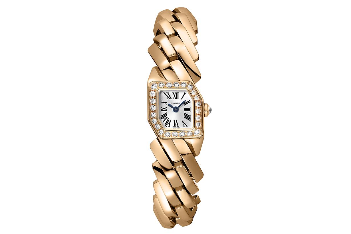 Maillon de Cartier Watch-18K Pink Gold-Diamonds