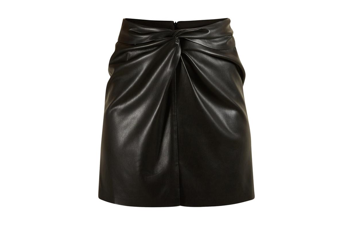 NANUSHKA Vegan leather Milo skirt