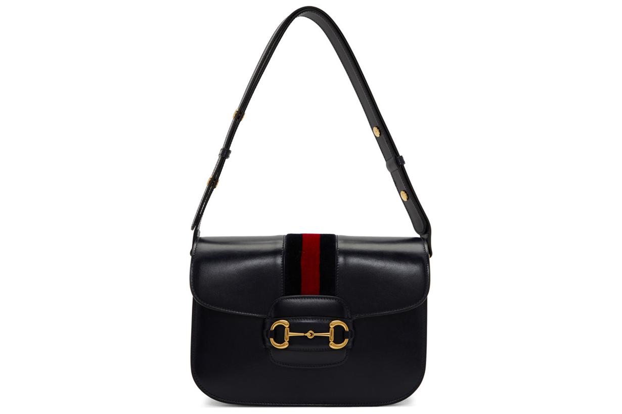 Navy 1955 Horsebit Shoulder Bag