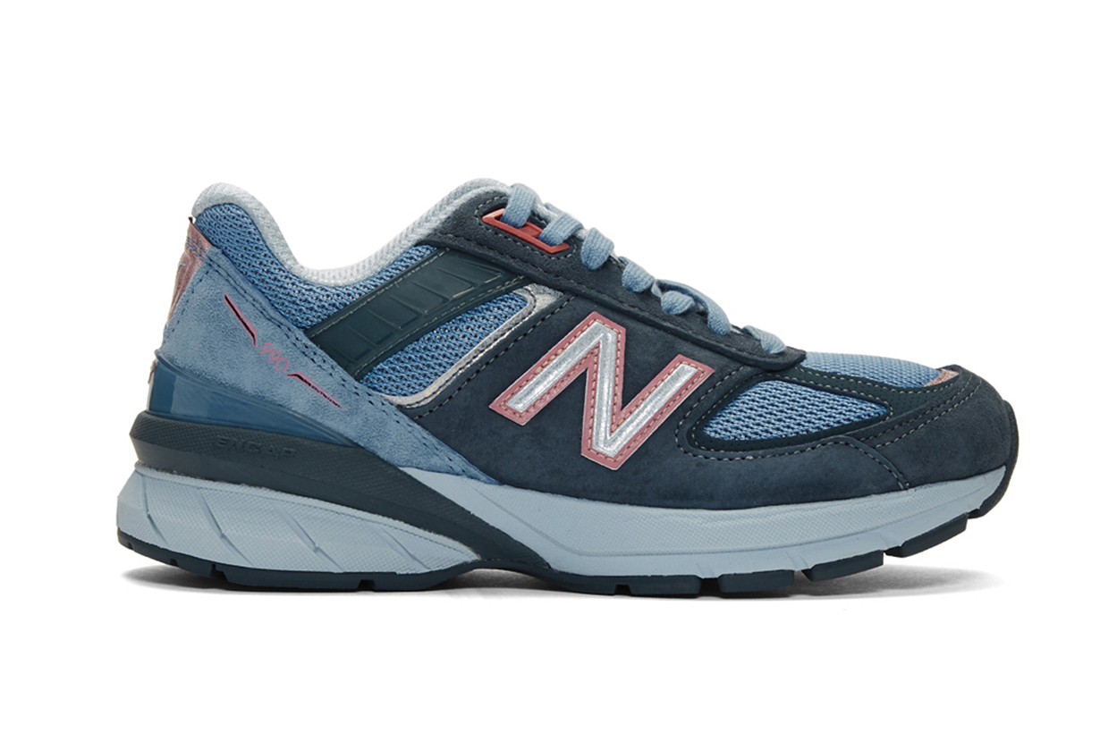 New Balance Blue Made In US 990 v5 Sneakers