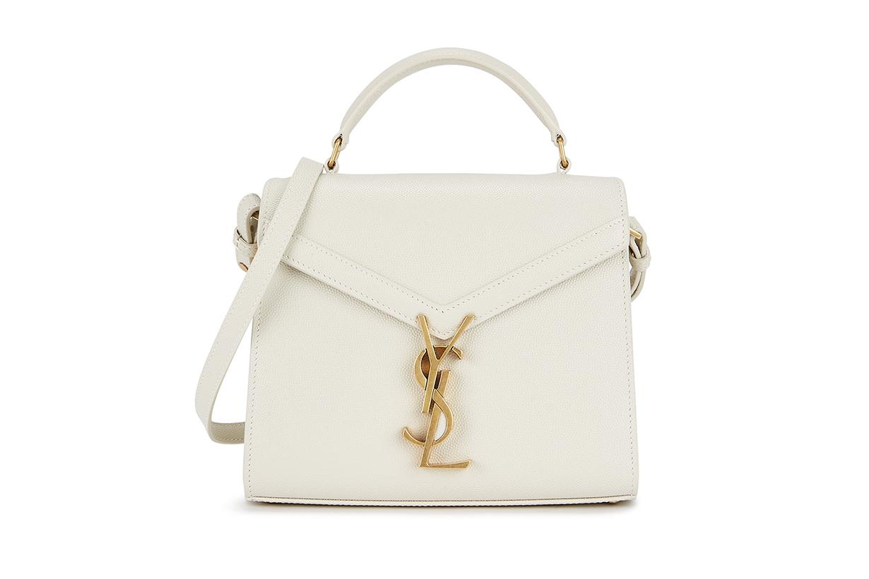SAINT LAURENT Cassandra mini leather cross-body bag