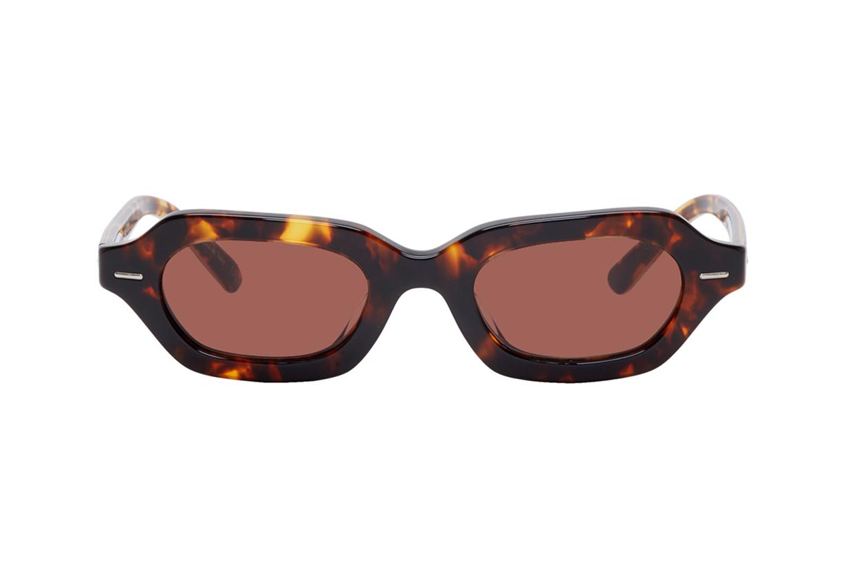 The Row Tortoiseshell Oliver Peoples Edition LA CC Sunglasses