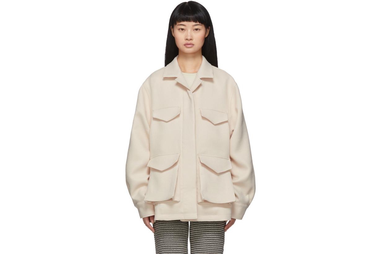 Totême Off-White Avignon Jacket