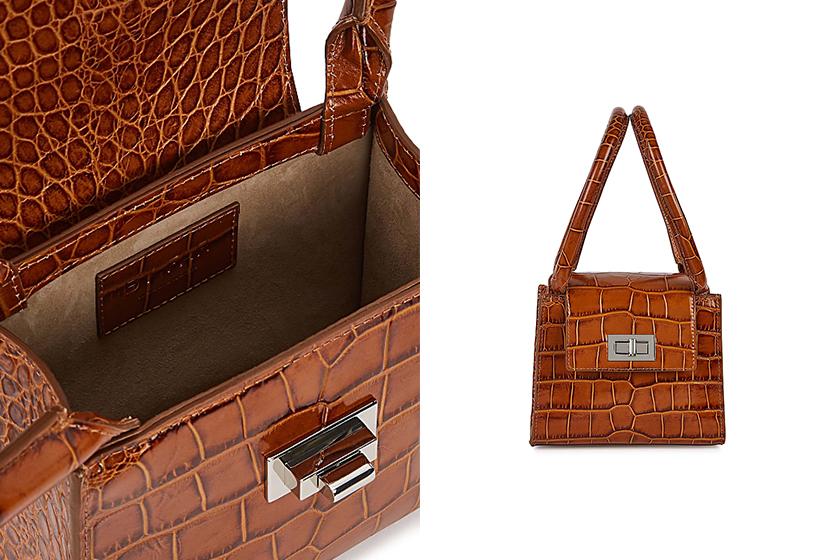 Spring Crocodile Skin Handbags Harvey Nichols SALE