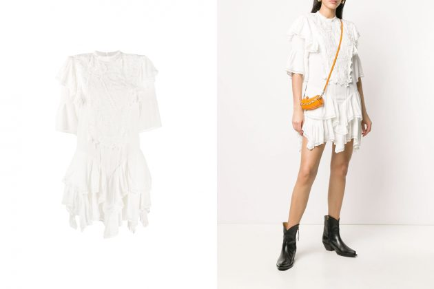 IU eight Isabel Marant white dress where buy