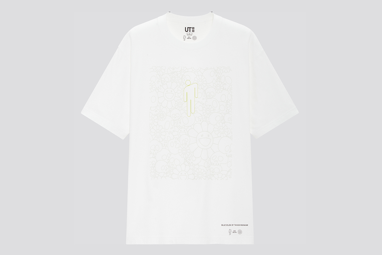 uniqlo billie eilish takashi murakami ut collection t shirt top5