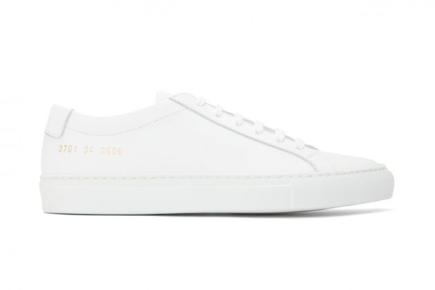 common projects white sneakers recommend ssense sale