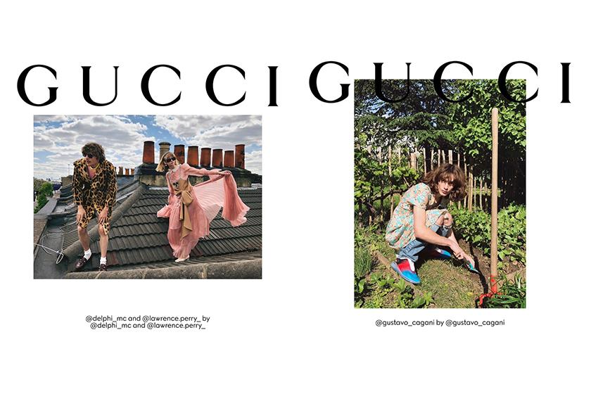 gucci fashion campaign Gucci The Ritual model self portrait