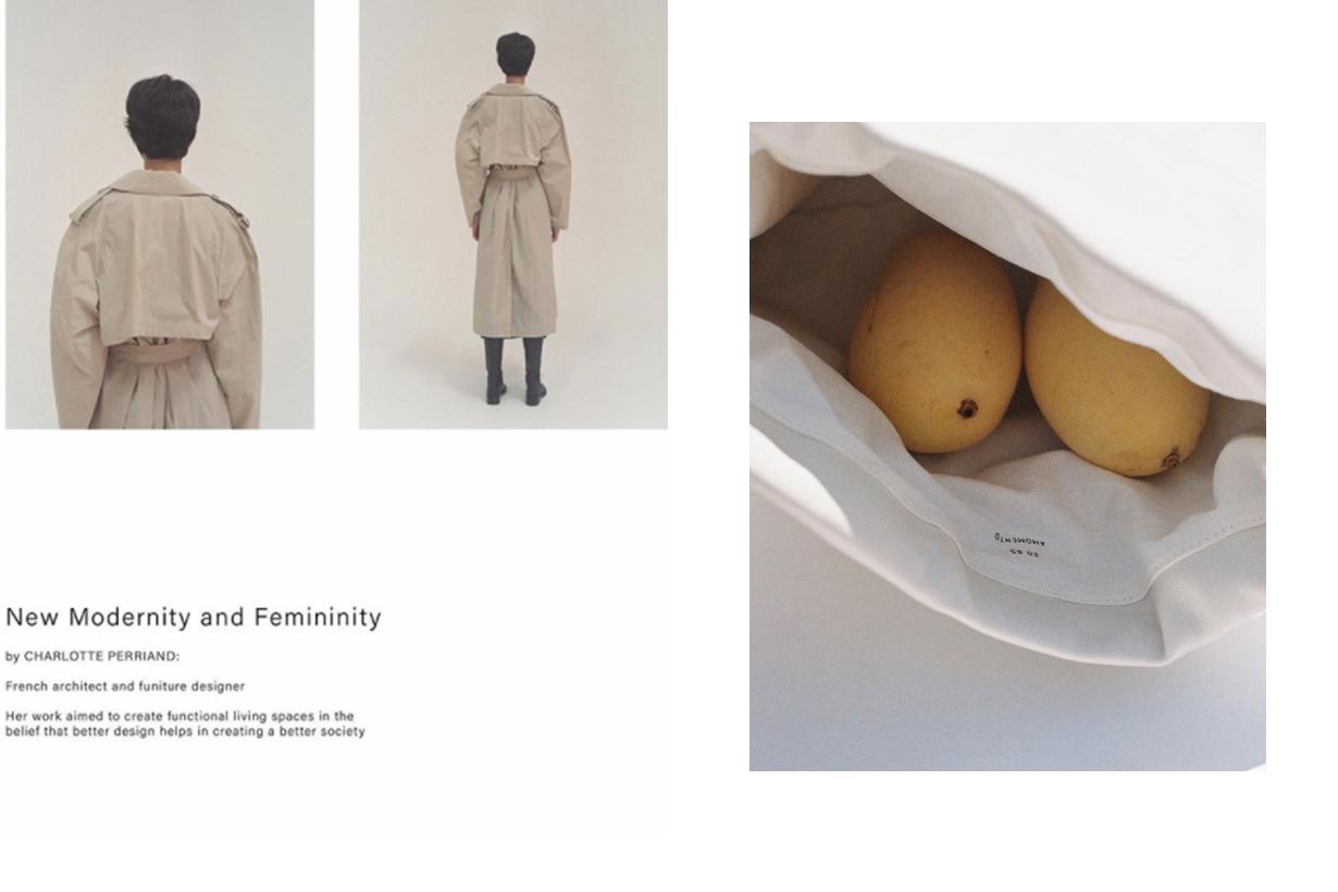 Seoul-based womenswear label AMOMENTO