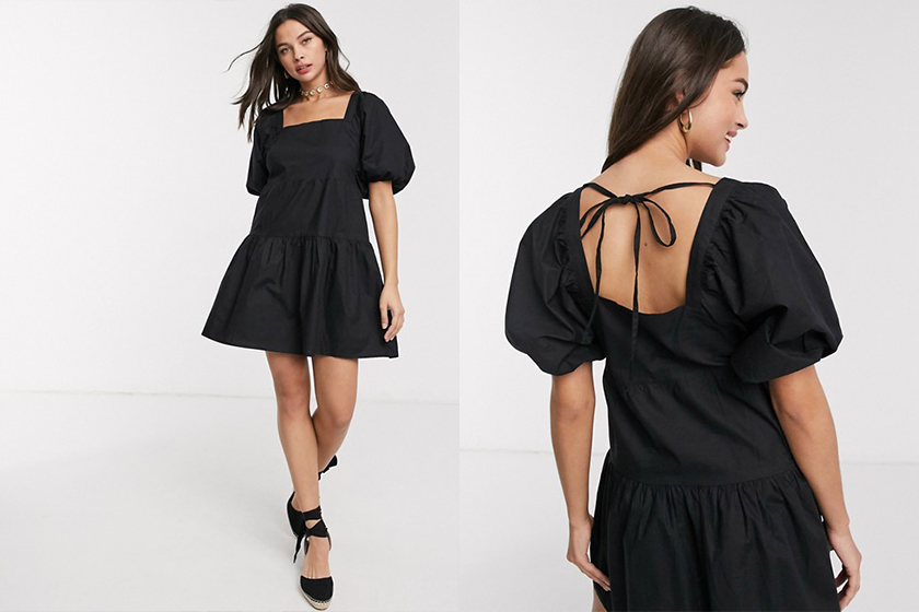 puff sleeves dress SS2020 trend