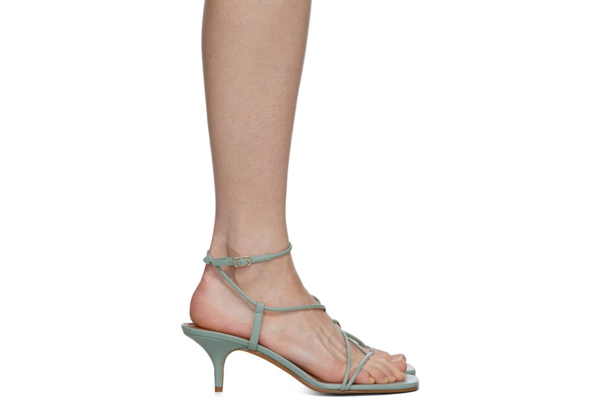Blue Tobias Heeled Sandals