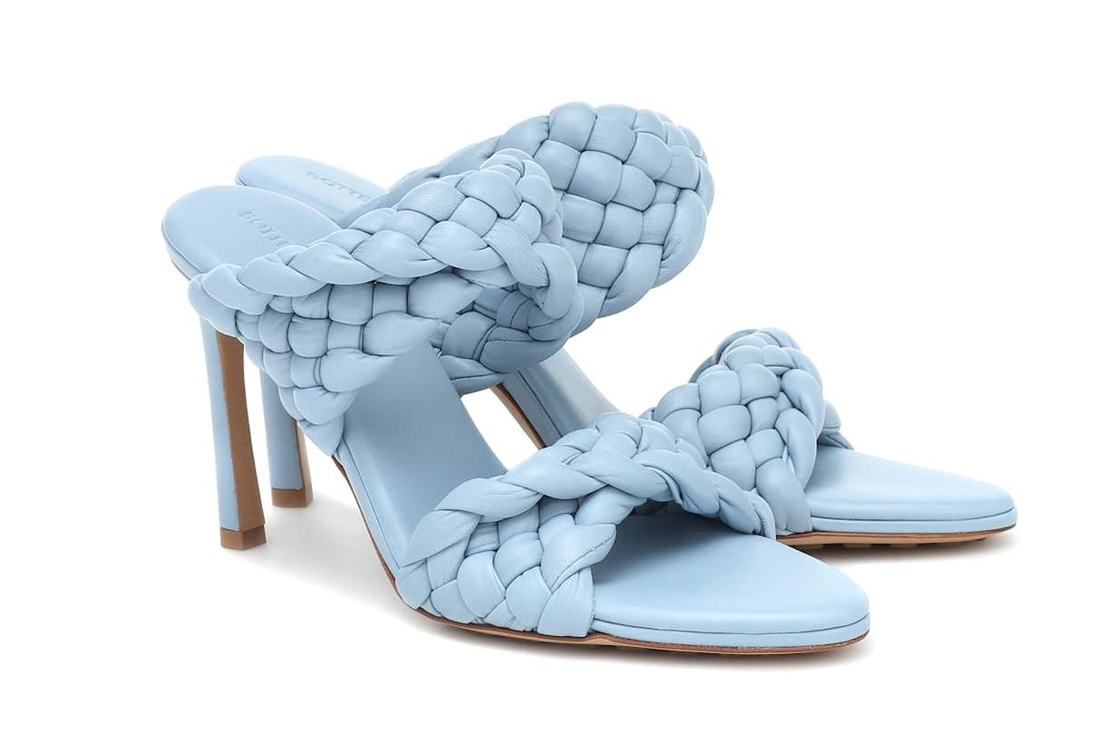 BOTTEGA VENETA BV Curve leather sandals