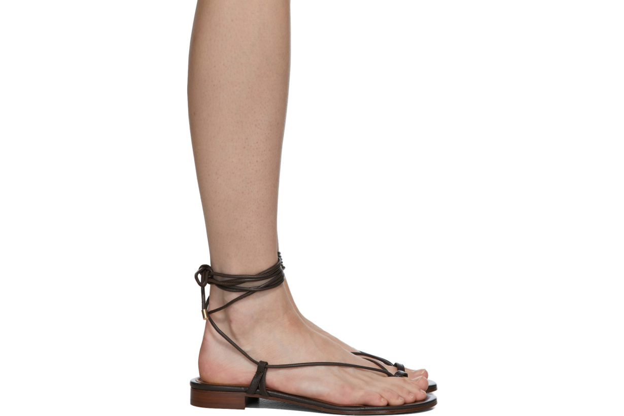 Brown Ava Sandals