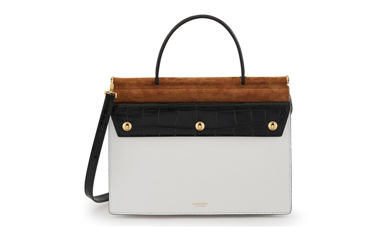 BURBERRY Title handbag small model