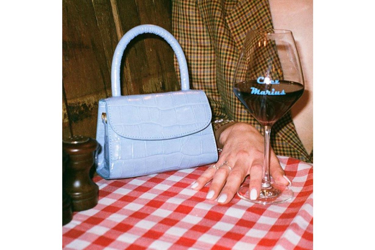 Blue Croc Bag