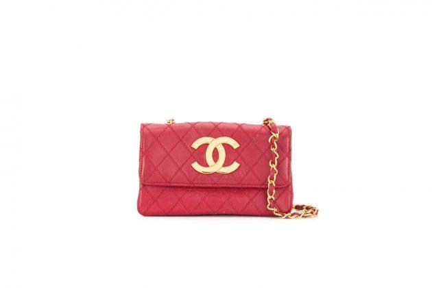 chanel farfetch 90s vintage handbags jewelry clothes rewind london