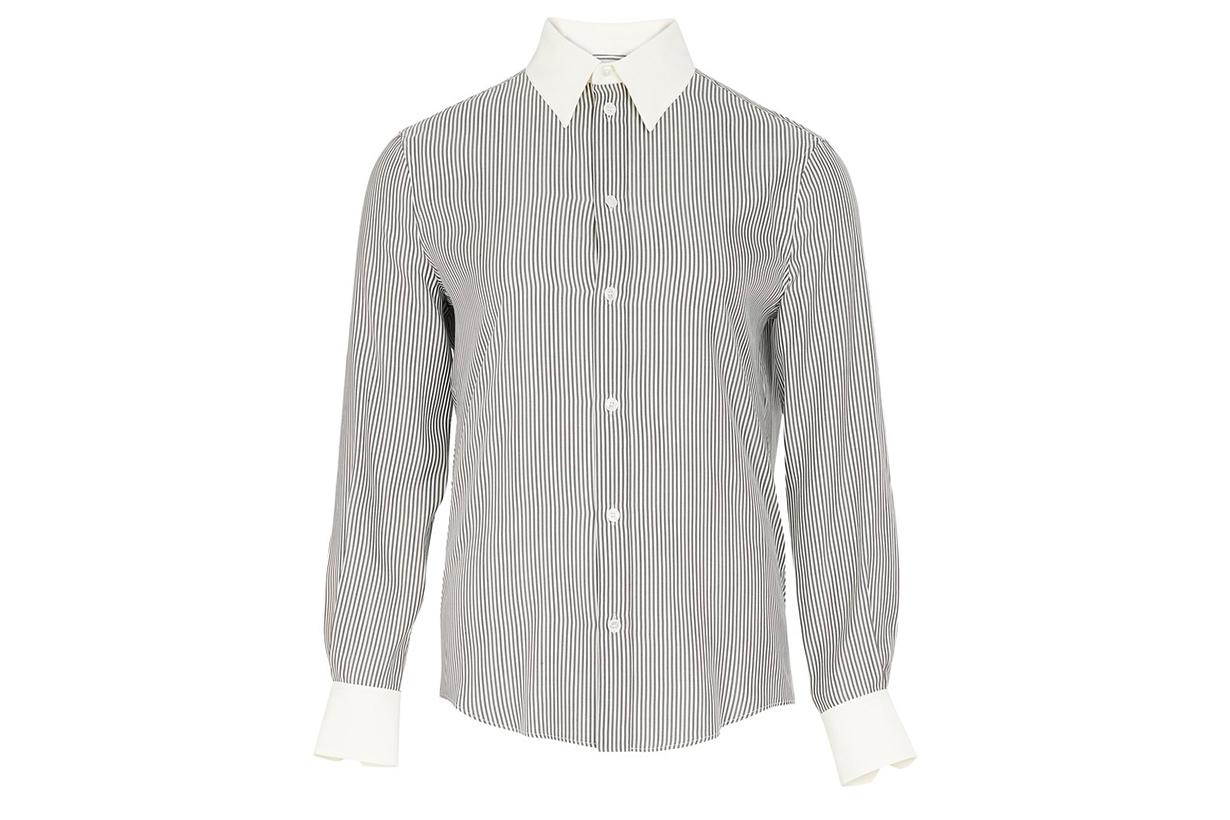 CELINE Long sleeves silk shirt
