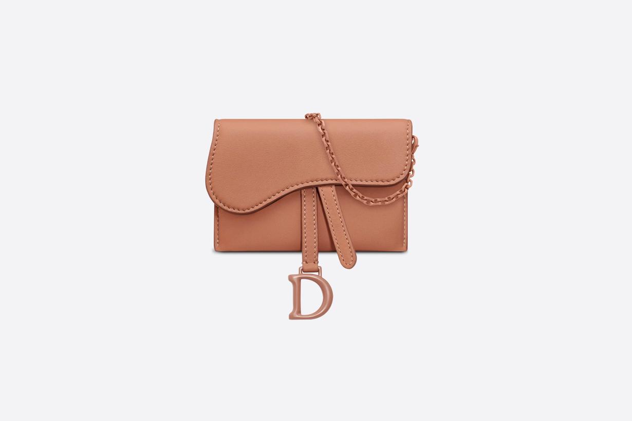 dior saddle nano pouch wallet cardholder mini bags