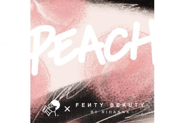 fenty beauty rihanna Heytea peach cream collabration