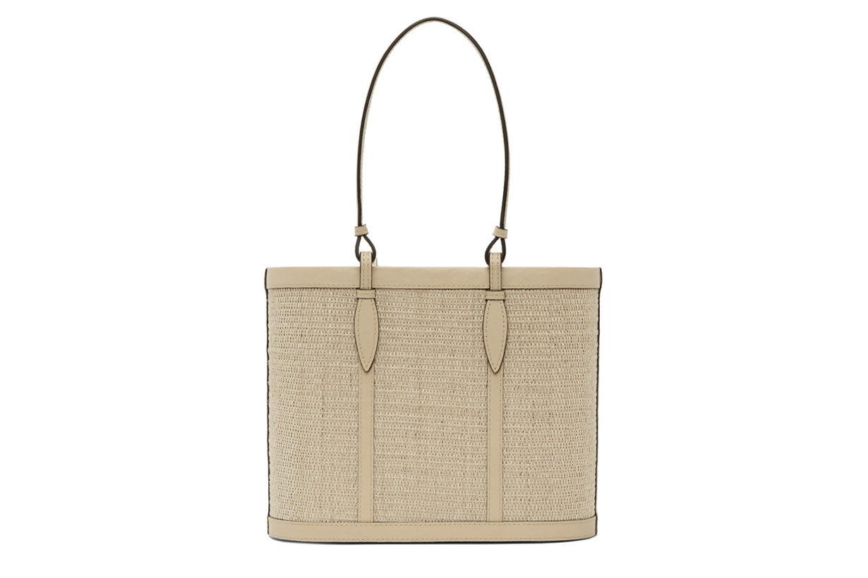 Hunting Season Beige Basket Bag