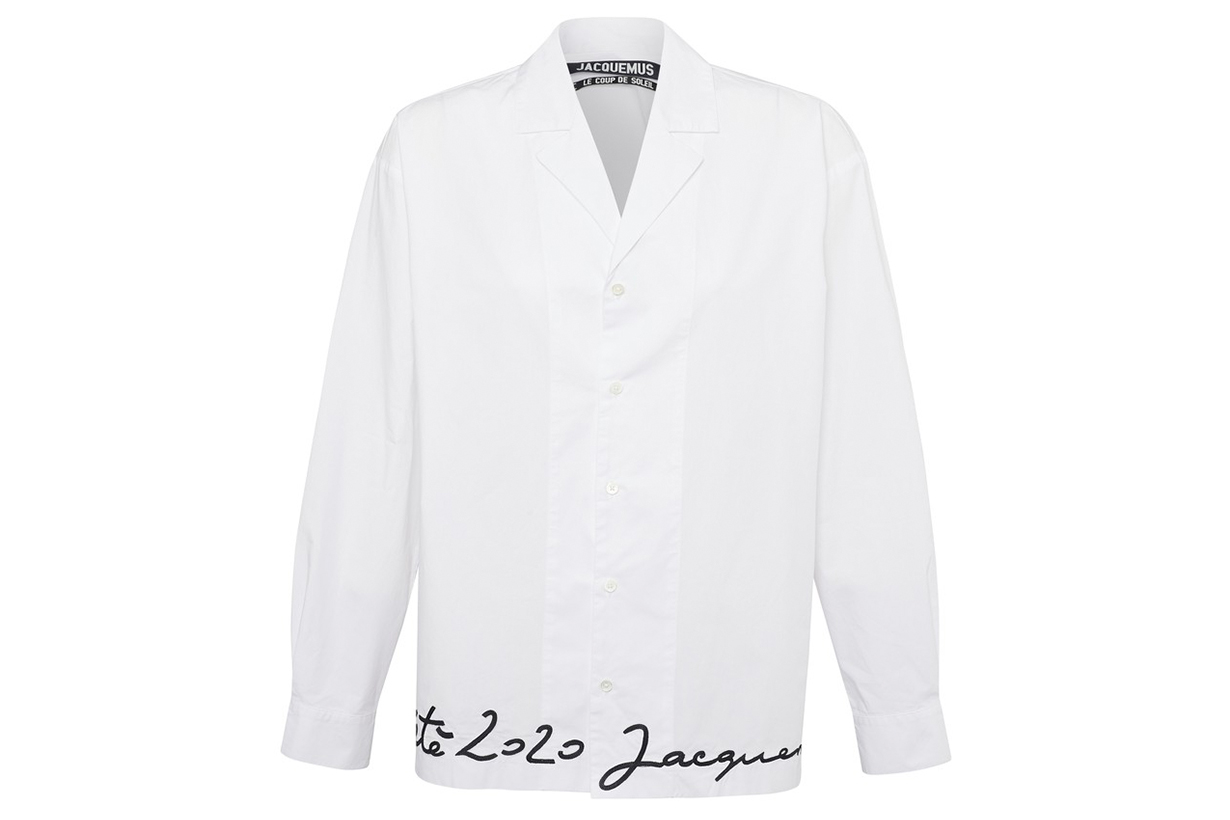 JACQUEMUS Coup de Soleil shirt